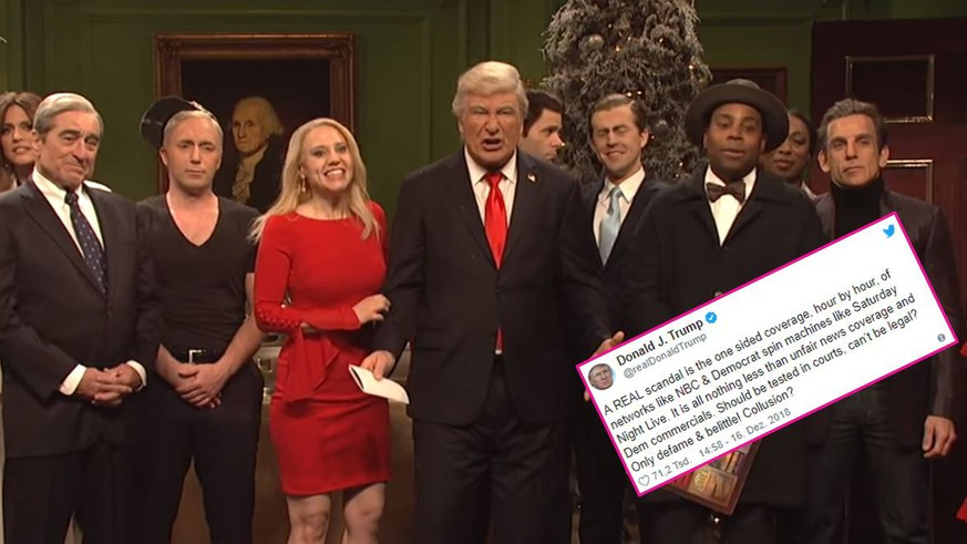 Matt Damon Snl Christmas.Saturday Night Live Matt Damon And Trump Trump Co