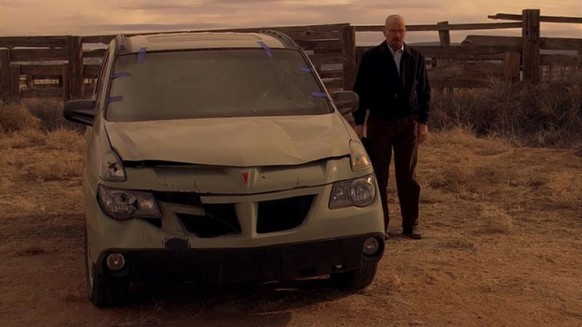 breaking bad pontiac aztek walter white http://jalopnik.com/5980961/why-breaking-bad-has-the-best-cars-on-television-right-now