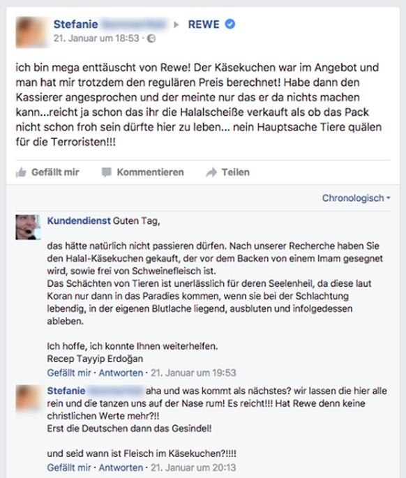 Der witzige Fake-Kundendienst auf Facebook treibt Kunden