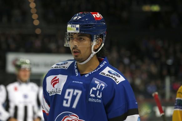 Zuerich, 09.10.2015, Eishockey NLA - ZSC Lions - HC Davos, Jonas Siegenthaler (ZSC). (Marc Schumacher/EQ Images)