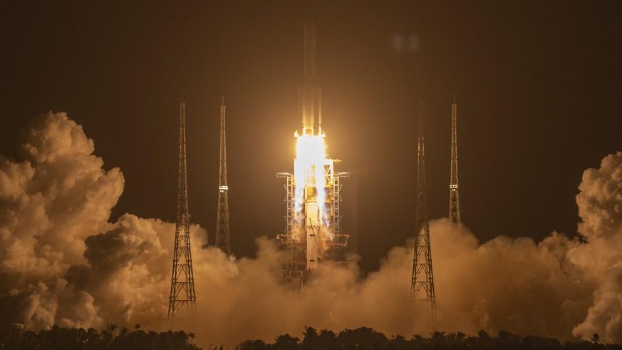 China fliegt zum Mond und will Gesteine auf die Erde holen – das Wichtigste in 4 Punkten