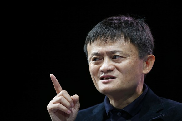 Jack Ma, Executive Chairman of Alibaba Group, speaks at the WSJD Live conference in Laguna Beach, California October 27, 2014.  REUTERS/Lucy Nicholson (UNITED STATES - Tags: BUSINESS SCIENCE TECHNOLOGY)