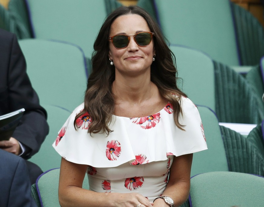 Britain Tennis - Wimbledon - All England Lawn Tennis & Croquet Club, Wimbledon, England - 27/6/16 Pippa Middleton REUTERS/Paul Childs