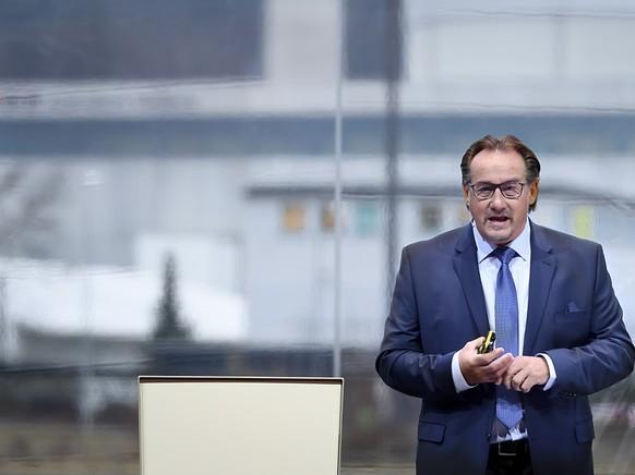 AKW-Chef Martin Saxer: Mühleberg wird am Freitag heruntergefahren.