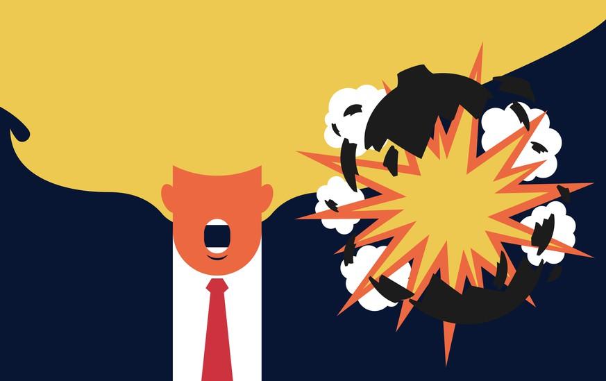 Die Bolton-Bombe ist explodiert – und zwar ins Gesicht von Donald Trump
