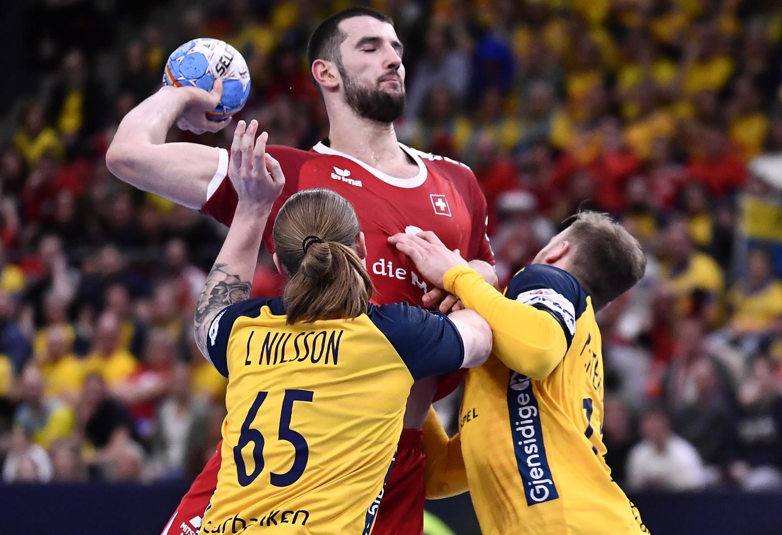 Schweizer Verlieren Zu Beginn Der Handball Em Gegen Schweden