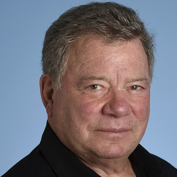 "In this May 22, 2017 photo, William Shatner poses for a portrait on Monday, May 22, 2017 in Los Angeles. As ""Star Trek II: The Wrath of Khan"" marks its 35th anniversary with a return to theaters for special screenings next week, star Shatner is celebrating more than his long history as Captain Kirk. At 86, the stalwart entertainer is busier than ever. (Photo by Jordan Strauss/Invision/AP)"