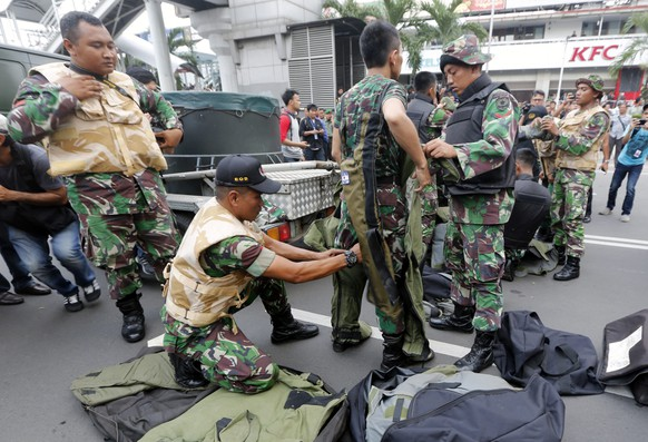 INDONESIA JAKARTA EXPLOSION