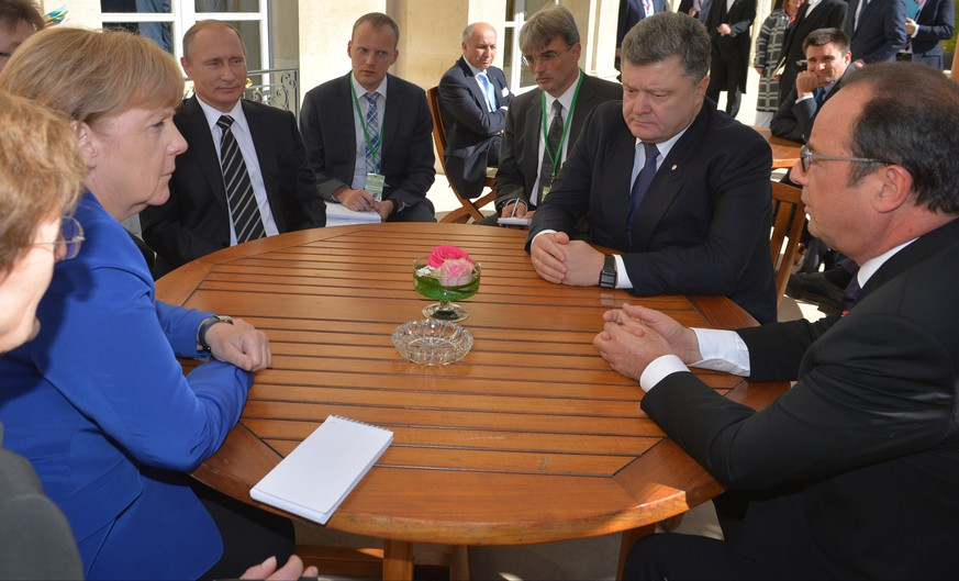 Waffenstillstand in Ostukraine soll eingehalten werden
