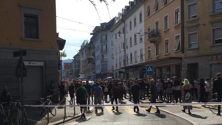 Demo gegen «Marsch fürs Leben» in Zürich eskaliert