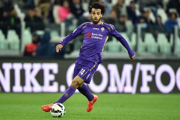 29.04.2015; Turin; Fussball SerieA - Juventus Turin - Fiorentina;Mohamed Salah (Fiorentina) (Filippo Alfero/Insidefoto/freshfocus)