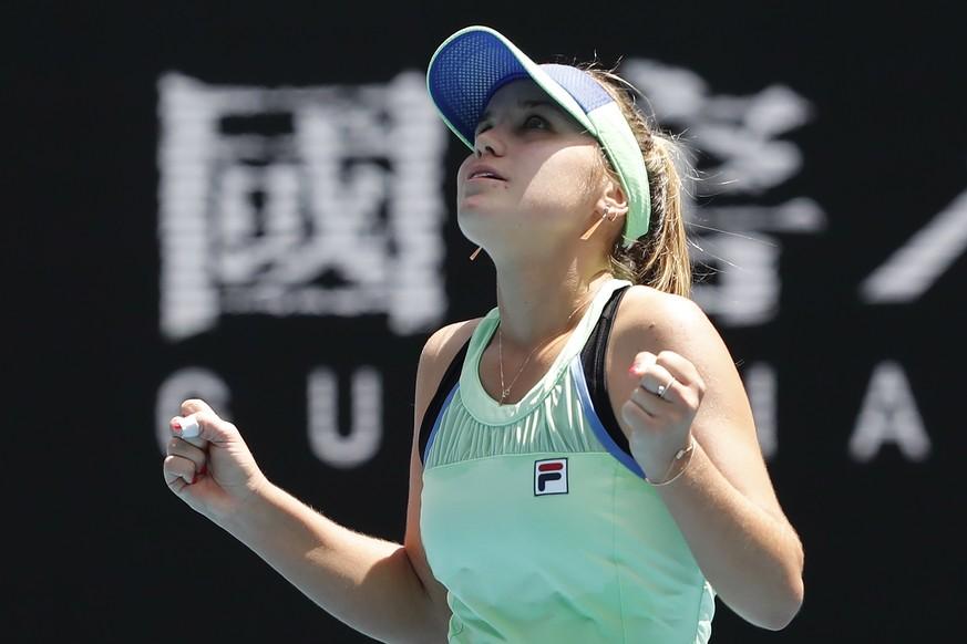 Sport-News: Sofia Kenin steh im AO-Halbfinale