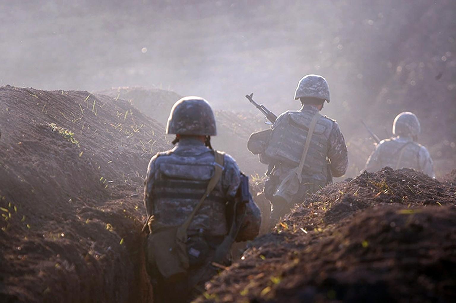 Schwere Gefechte In Der Konfliktregion Berg Karabach Watson