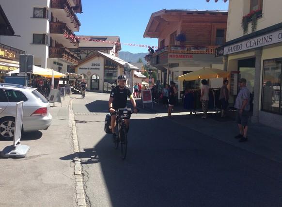 Hier in Samnaun beginnt meine Reise durch alle 2324 Gemeinden der Schweiz.