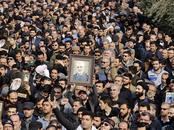 IRAN USA SOLEIMANI DEATH REAX