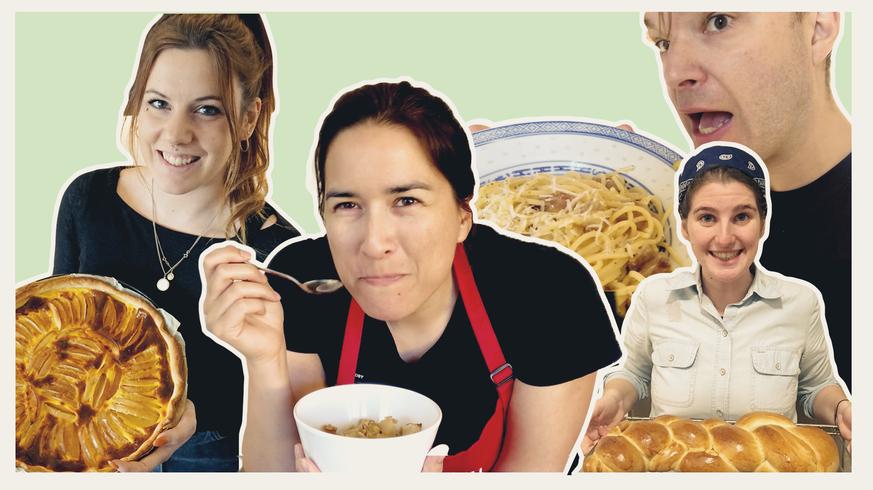 Corona-Quarantäne-Cuisine mit unseren watsons – so gut sind ihre Kochkünste