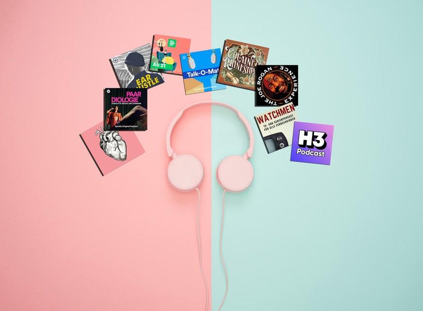 Das sind unsere Podcast-Lieblinge. Und welche hörst du?