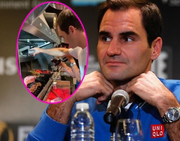 Federer zwischen Asado und Maradona: «Ich sehe keinen Grund, aufzuhören»