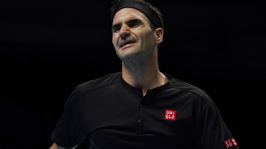 ATP Finals: Das sagt Roger Federer nach dem Halbfinal-Aus gegen Tsitsipas - watson