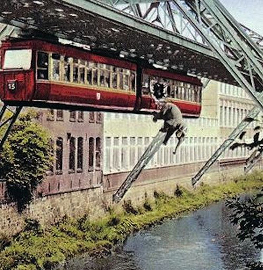 Elefant Wuppertaler Schwebebahn