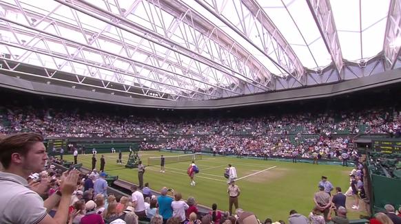 Dach Center Court Wimbledon