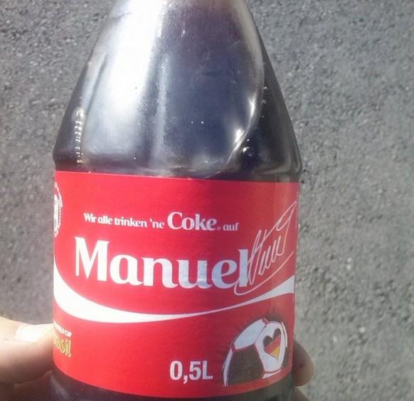 Coca Cola Manuel Neuer