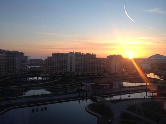 Sotschi Sonnenuntergang