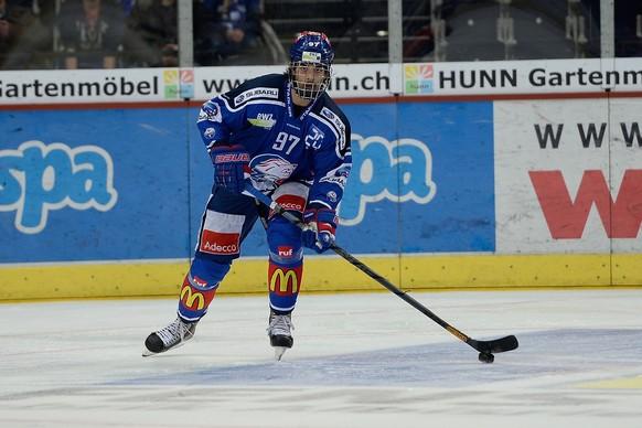 27.01.2015; Zuerich; Eishockey ZSC Lions -  EV Zug; Jonas Siegenthaler (ZSC) (Daniela Frutiger/Freshfocus)