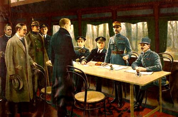 waffenstillstand compiègne 1918 erster weltkrieg wikipedia/pd