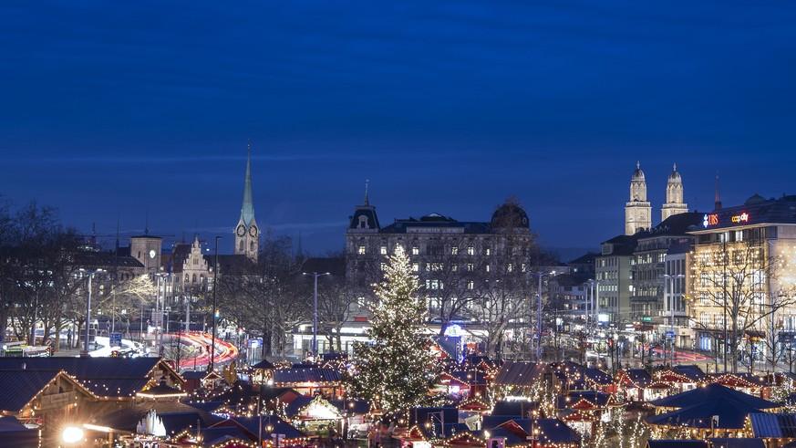 Weihnachtsmarkt Zürich.Nach Berlin Am Weihnachtsmarkt In Zürich Habe Keine Angst Watson