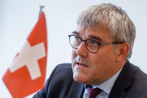 Der Baselbieter SP-Nationalrat Eric Nussbaumer unterstützte den Wahlkampf der SPD.