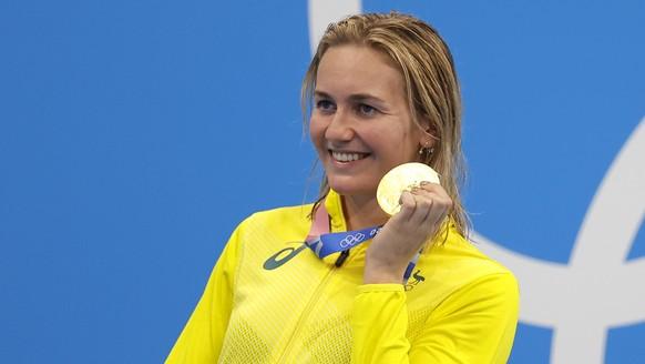 9. <strong>Ariarne Titmus</strong> (Australien, Schwimmen): 2x Gold, 1x Silber, 1x Bronze.