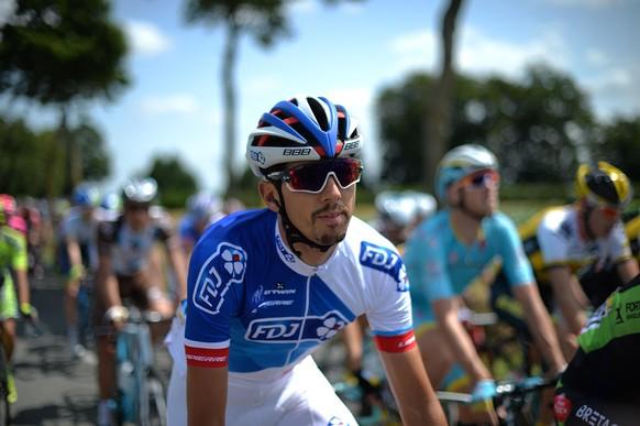 09.07.2015; Cambrai; Radsport - Tour de France 2015 - 6. Etappe - Abbeville - Le Havre (191.5km); Steve Morabito (SUI) (Bernard Papon/Presse Sports/freshfocus)