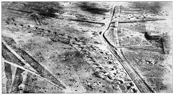 Erster Weltkrieg Siegfriedstellung Grabenkämpfe Stellungskrieg (Wikipedia/PD)