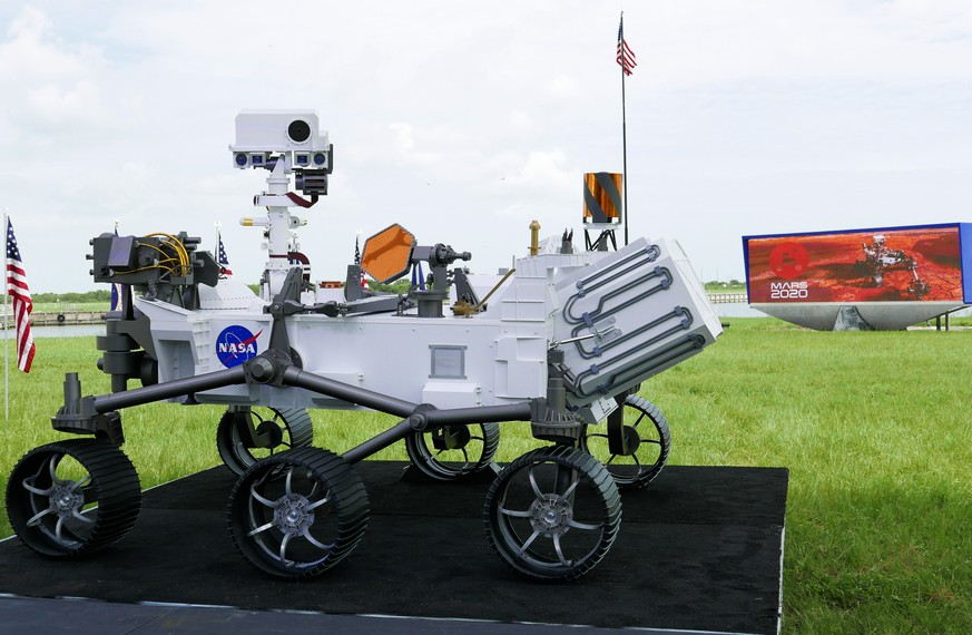 Nasa schickt Rover
