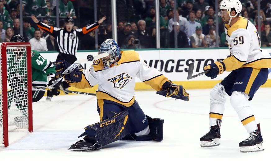 NHL: Roman Josi und die Nashville Predators scheitern an Dallas Stars