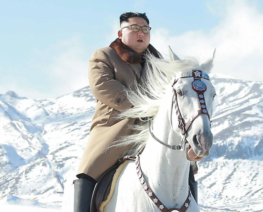 Kim Jong Un reitet auf heiligen Berg und plant «grossartige Operation»