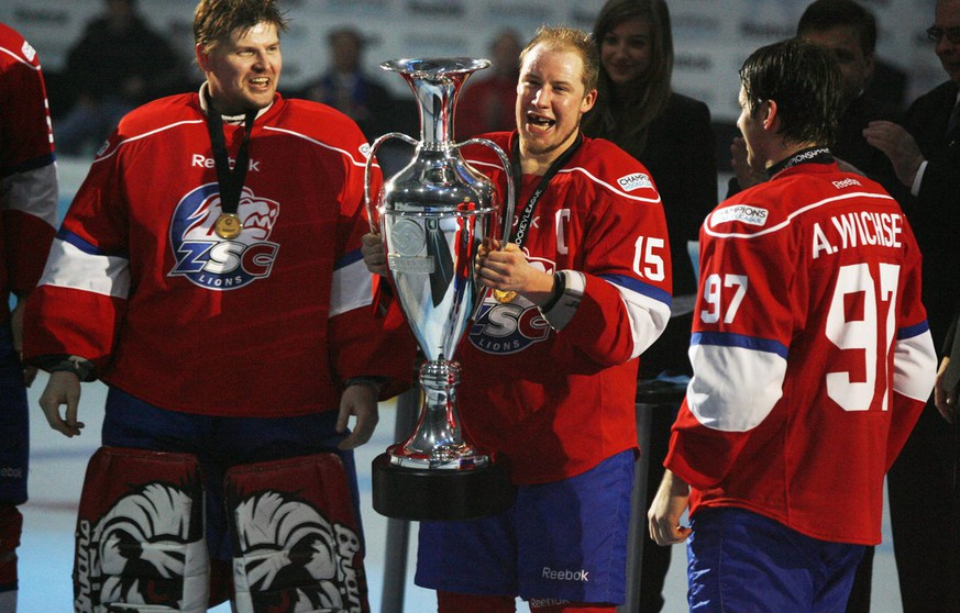 2009: Die ZSC Lions gewinnen die Champions Hockey League