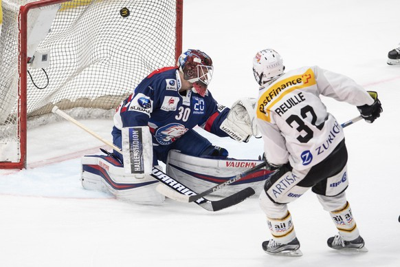 SCHWEIZ EISHOCKEY PLAYOFF FINAL ZSC LUGANO