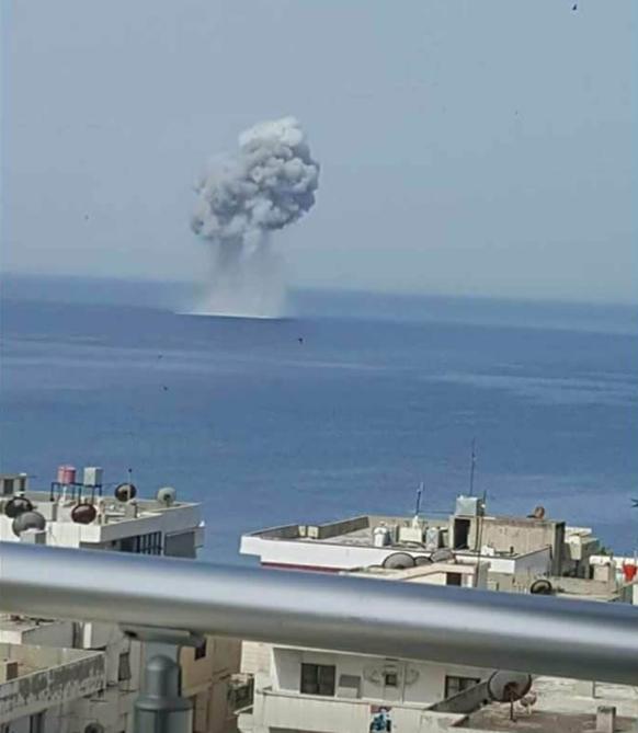 Russisches Kampfflugzeug stürzt über dem Mittelmeer ab