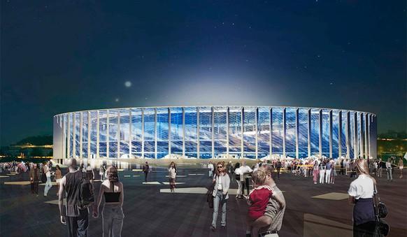 Nischnij Nowgorod (1,2 Mio. Einwohner). - Stadion: Stadion Nischnij Nowgorod. - Kapazität: 44'899.