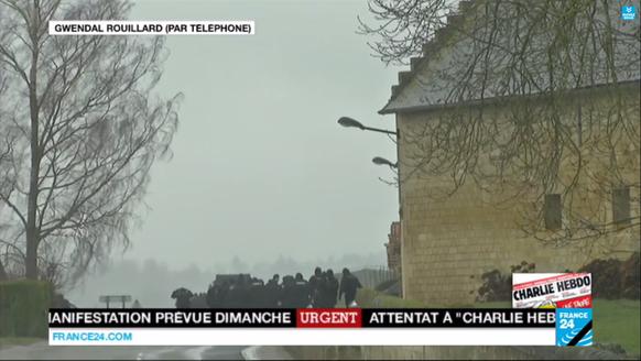 Crépy-en-Valois, Charlie Hebdo, France
