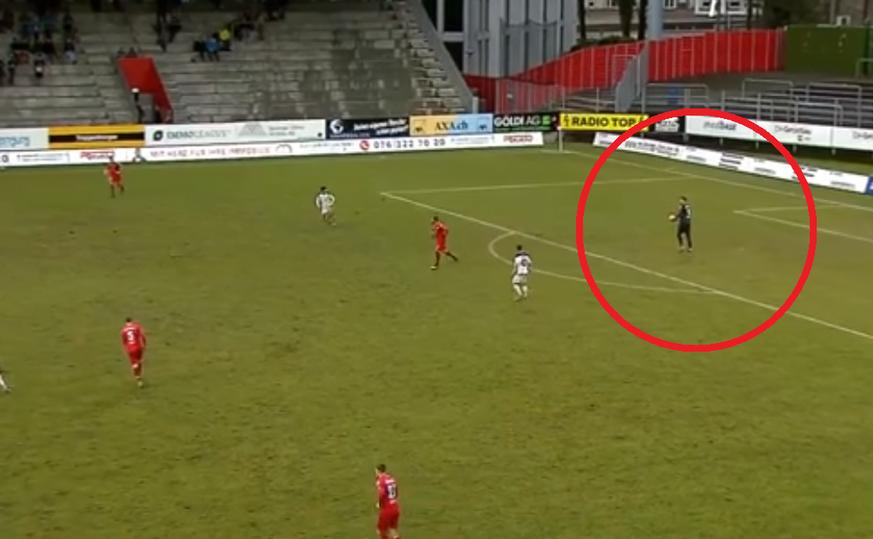 Challenge League: Winterthurs Raphael Spiegel erzielt Goalie-Goal