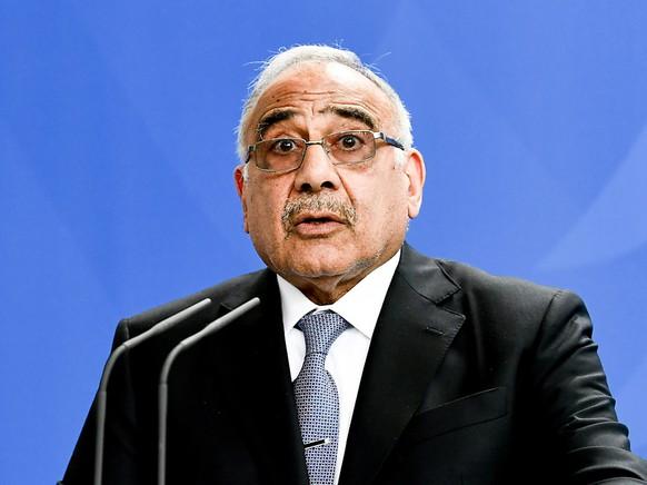 Das irakische Parlament hat das Rücktrittsgesuch von Ministerpräsident Adel Abdel Mahdi angenommen.