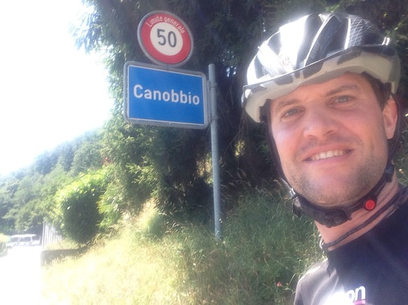Es geht Richtung Lugano. Gemeinde 108: Canobbio.