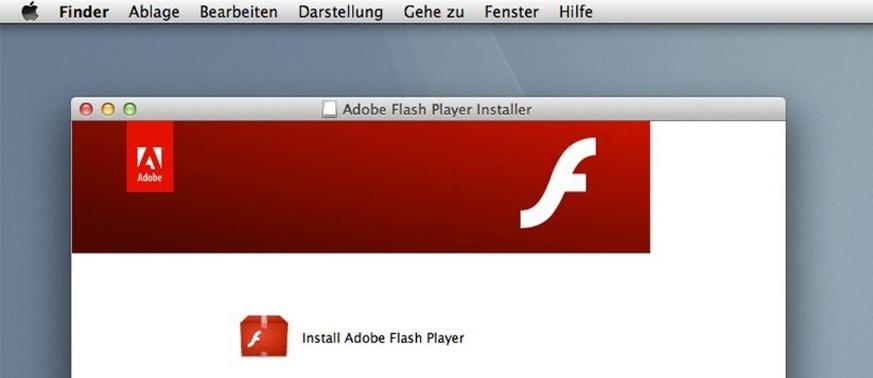 Flash Player Aktuell