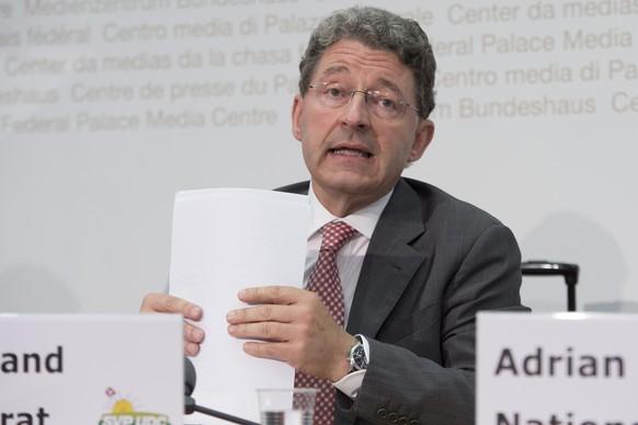 Der Bündner Heinz Brand: Er gehört zu den Kronfavoriten. Hat sich als Ex-Chef der kantonalen Fremdenpolizei mit Migrationsthemen profiliert, gilt als linientreu, aber umgänglich.