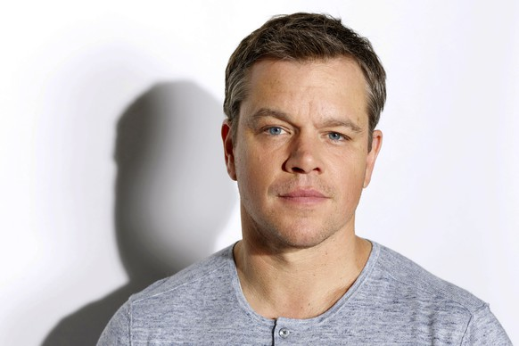 In this July 25, 2016 photo, actor Matt Damon poses for a portrait in Los Angeles to promote his latest film,