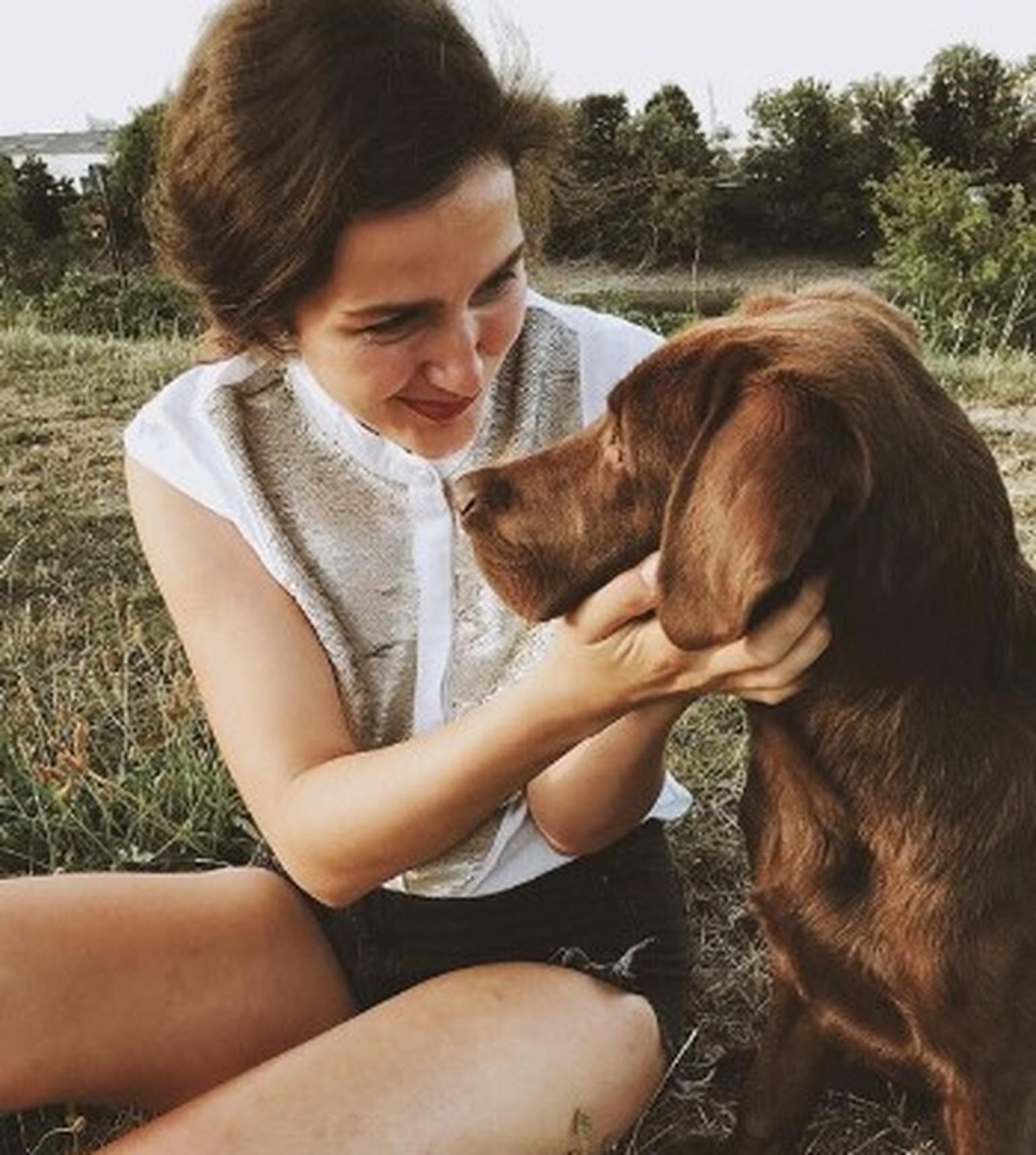 Und liebe machen hund frau AUS LIEBE