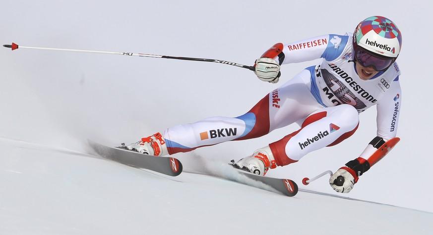 Flury gewinnt Super-G in St. Moritz